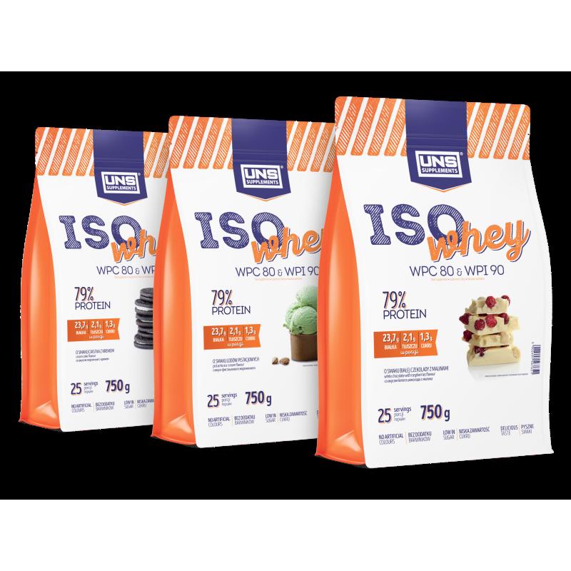 UNS ISO WHEY 3 x 750 g