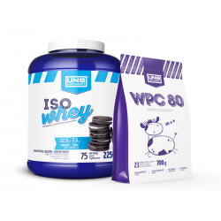 UNS ISO WHEY 2250 g + UNS WPC 80 700 g