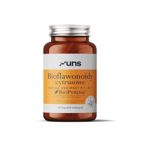 UNS BIOFLAWONOIDY CYTRYSUOWE + BIOPERINE 60 vege kaps.