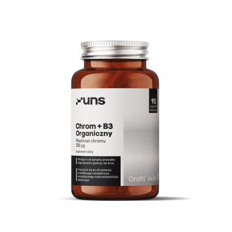 UNS CHROM ORGANICZNY + B3 60 vege kaps.
